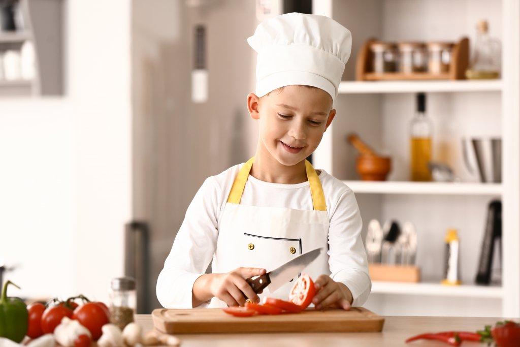 kinder kochen talente